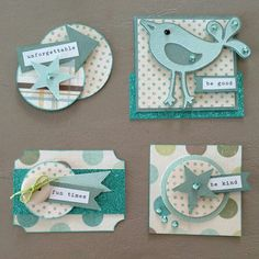 Card accents / embellishments using scraps