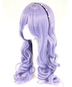 Wisteria Violet Long Curcly - Cosplay Wigs | Wigaholics - COSPLAY IS BAEEE!!! Tap the pin now to grab yourself some BAE Cosplay leggings and shirts! From super hero fitness leggings, super hero fitness shirts, and so much more that wil make you say YASSS!!!