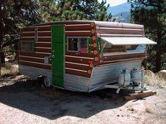 Aristocrat Trailer MSN Forum - ARCHIVES - 1967 Aristocrat Log Cabin Camper - Photo #1 of 40