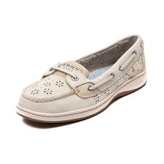 Shop for Womens Sperry Top-Sider Angelfish Perfs Boat Shoe in Ivory Oat at Shi by Journeys. Shop today for the hottest brands in womens shoes at Journeys.com.