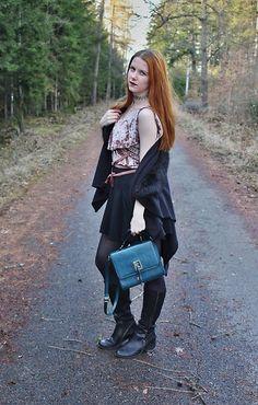 Get this look: http://lb.nu/look/8622207  More looks by Lucka S.: http://lb.nu/user/1748263-Lucka-S  Items in this look:  Zara Top, Miss Selfridge Skirt   #punk #street