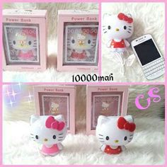 #powerbank #hellokitty #full #body 10.000mah @ 260.000