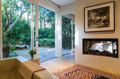 """Patrick Dempsey Selling Frank Gehry-Designed """"Tin House"""" in Malibu  Oh, to have outside inside with complete privacy"""