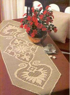 Kira crochet: tablecloth
