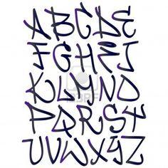 Hip hop type grafitti design by Radmila BorojevicGraffiti font alphabet letters. Hip hop type grafitti design by Radmila Borojevic Alphabet Graffiti, Graffiti Lettering Fonts, Creative Lettering, Lettering Styles, Grafitti Letters, Hip Hop Graffiti, Graffiti Tagging, Graffiti Designs, Alphabet Police