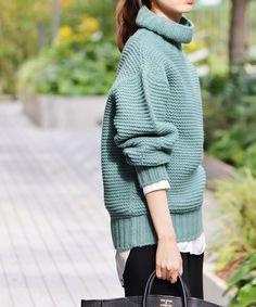 ガータータートルプルオーバー◆|IENA(イエナ)公式のファッション通販|【18080900767030】- BAYCREW'S STORE Winter Wear, Fall Winter, Turtle Neck, Knitting, Fashion Trends, Women's Fashion, Sweaters, How To Wear, Style