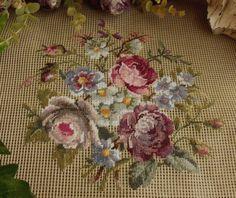 Needlepoint Roses...