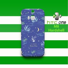 Peter Pan Classic Penguin Book Blue HTC One M8 Case Cover Hardshell | alpha_sephia - Accessories on ArtFire