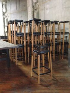 cafechairs: GONE STEEL WOOD MAGIS COUNTER BAR & BAR STOOLS #cafe #chairs