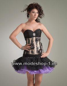 Petticoat Style Kleid in Schwarz