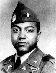 Vernon Baker- the only black veteran awarded the Medal of Honor for valor in World War II, receiving it 52 years after he wiped out four German machine-gun nests on a hilltop in northern Italy.