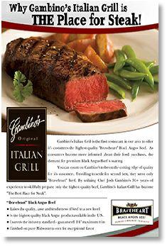 Gambino's Italian Grill 18 Laurel Avenue Fairhope, Alabama  36532 (251) 990-0995 GambinosItalianGrill@gmail.com www.GambinosItalianGrill.com