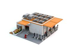 LEGO Ideas - Lego City Warehouse