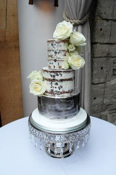 Find a small snapshot of some our recent cake creations inside. We'd love to meet you to discuss your wedding cake in person. Cake Creations, Wedding Cakes, Cascading Bouquets, Desserts, Cake Photos, Inspiration, Cupcake, Naked, Design