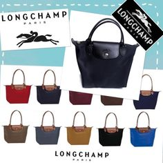 """LONGCHAMP """"modele depose in navy. NWOT Longchamp Modele Depose Small in Navy with Leather Trim Handbag Made in France, #0713419 Lightweight, Nylon Roomy Zips across the top with Longchamp pull Leather flap over and snap close Longchamps logo and name on flap    Dimensions:7-1/2"""" high x 9"""" wide x 4-1/2"""" deep Longchamp Bags Satchels"""