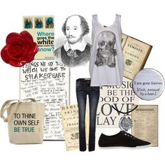 shakespeare clothes.