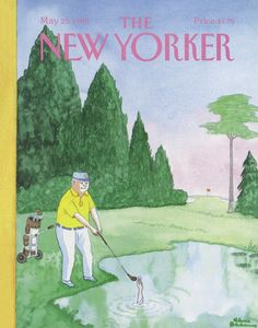 The New Yorker - Monday, May 23, 1988 - Issue # 3301 - Vol. 64 - N° 14 - Cover by : Charles Addams The New Yorker, New Yorker Covers, Addams Family Tv Show, Charles Addams, Cross Stitch Silhouette, Magazine Art, Magazine Covers, Vintage Magazines, Cartoon Drawings