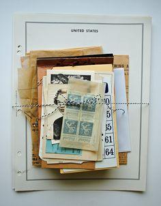 Ephemera Paper Pack by FoundonBrighton on Etsy