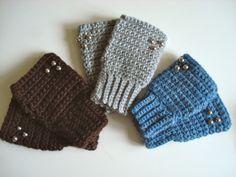 Patrón/pattern; mitones con puño elástico  yoquetucrafteaba.blogspot.com.es