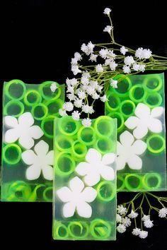 Chamomile Clear Glycerin Soap