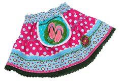 Kinderkleidung - Rock Gr. 98/104 ULJANA Sommerrock - ein Designerstück von mynata bei DaWanda