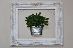 I am always on the lookout for a good ol' empty frame. They are good for dimension and they also add more character to every day decor for your home. Below are some ideas to get your creativity flowing. Frame...