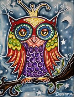 Mystic Owl.jpg :: Deanna Williams-Artist