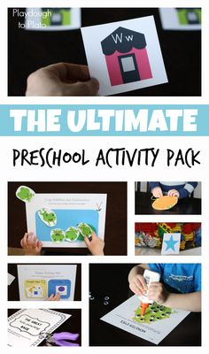 Easy prep, fun way to get kids ready for kindergarten this summer!!