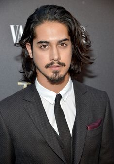 Avan Jogia Sports Dapper Three Piece Suit for TUT Premiere