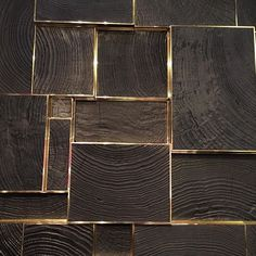 Blackened wood and brass @maisongerard Photo taken by @drakedesignassociates on Instagram