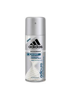 Deodorant spray Adidas Adipure - 150 ml - pentru barbati Adidas, Personal Care, Pure Products, Alcohol, Self Care, Personal Hygiene