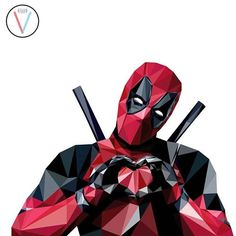 Image result for low poly deadpool Paint Chip Art, Paint Chips, Low Poly, Deadpool, Balloons, Darth Vader, Party, Painting, Fictional Characters