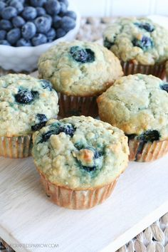 These Banana Blueberry Oat Muffins are full of delicious fresh fruit, they are filling and so delicious. Your family will love these.