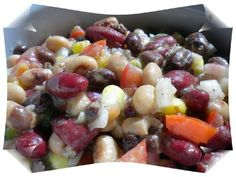 Southwestern Style Black Bean Salad recipe. This colorful, high fiber, high protein salad makes a great side dish, appetizer served with chips. Posted by Smeena Ahmed.