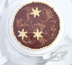 Salted caramel & chocolate tart recipe - Recipes - BBC Good Food