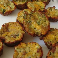 ZUCCHINI BITES just made these without the last 2 ingredients bacon and parsley and they were AWESOME!