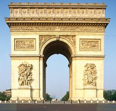 Paris Top 10 : Arc de Triomphe - The best day to visit the world's most familiar triumphal arch is 2 December, the date that marks Napoleon's victory at the Battle of Austerlitz in 1805, when the sun sets in line with the Champs-Elysées and the Arc de Triomphe, creating a spectacular halo around the building.