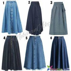 Likes, 395 Comments - Nebihan A . Street Hijab Fashion, Muslim Fashion, Modest Fashion, Fashion Dresses, Skirt Outfits, Dress Skirt, Maxi Skirts, Jean Skirts, Stylish Dresses
