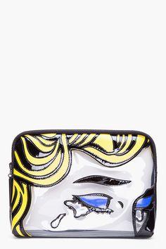 Phillip Lim cosmetic bag inspired by Roy Lichtenstein
