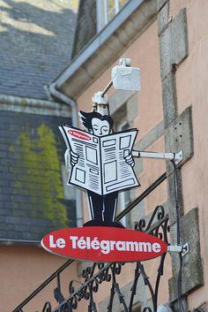 Le télégramme   Flickr: Intercambio de fotos