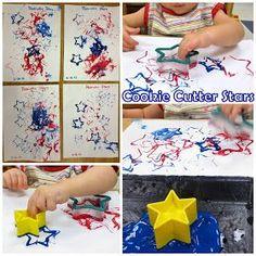 Princesses, Pies,  Preschool Pizzazz: Stars  Stripes: Patriotic Crafts for Toddlers