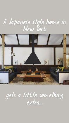 Japanese Home Design, Japanese Interior, Japanese House, Japanese Style, Wood Furniture, Furniture Design, Live Edge Table, Japanese Architecture, Minimalist Home