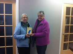 Congratulations to Anne Daykin for winning the Samsung Gallaxy tablet prize from our 2015 Home Show event. Prize being presented by Betty Lynn Cassis, Sales Representative.