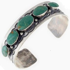 Emerald Valley Turquoise Cuff Santa Fe Style Bracelet