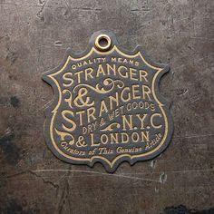 Stranger & Stranger Brand Tag