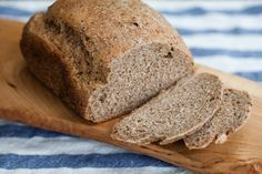 Sprouted Flour Bread Machine Bread - I love sprouted flour, it digests so nicely! I'm tight on counter/storage space but I keep thinking about picking up a bread machine at a yard sale or thrift store (goodness knows I see enough of them!)