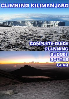Climbing to the roof of Africa, Mount Kilimanjaro Tanzania. Complete guide, planning, budget, gear, photos and more.
