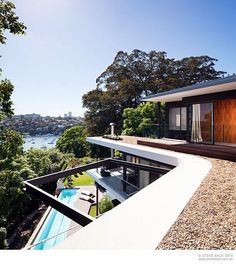 We've got a real special spot in our heart for Sydney and make no secret that I would like to have D'Marge HQ up there at some point... But imagine living in Sydney and owning a house like 'River House' by MCK Architects. Holy shit! Did someone say partay?  Architects Description  For the River House, the site itself provided both the greatest opportunities, and the largest constraints to the design. It is both steep and awkwardly shaped, but retains magnificent North facing panoramic ...