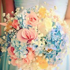 Wedding flowers #summer
