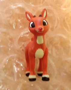 Hallmark Keepsake Ornaments Miniature Rudolph the Red Nose Reindeer 1992 #Hallmark #rudolphtherednosereindeer